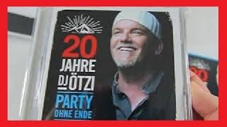 DJ Ötzi - 20 Jahre DJ Ötzi-Party Ohne Ende (Ltd.Fanbox) Unboxing