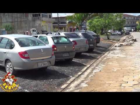 Prefeitura de Juquitiba faz estacionamento da Avenida Tancredo de Almeida Neves