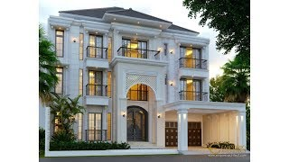 Video Mrs. Ines Classic House 3 Floors Design - Jakarta