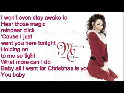 Mariah Carey - All I Want For Christmas Is You - (TESTO)