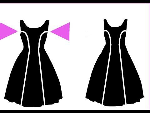Kleid enger nähen