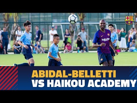 Abidal   Belletti vs Haikou Barça Academy  who will win  fab219be8c0