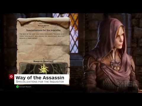 Dragon Age: Inquisition Walkthrough - Way Of The Assassin - IGN Walkthroughs