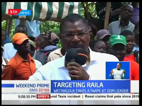 Wetangula attacks Raila over Luhya unity remarks