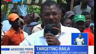 Wetangula attacks Raila over Luhya unity remarks