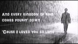 Soulsavers - Kingdoms of Rain (Lyrics video)