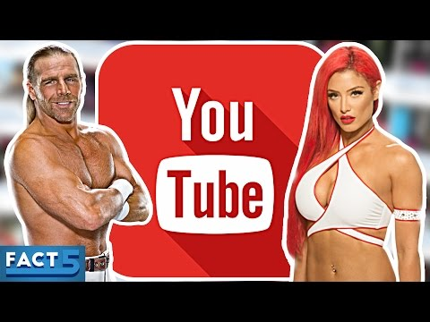 5 WWE WRESTLERS WHO HAVE YOUTUBE CHANNELS