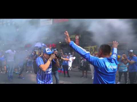 """""""MILLONARIOS FC CELEBRACION  EN NEW YORK"""" Barra: Comandos Azules • Club: Millonarios • País: Colombia"""