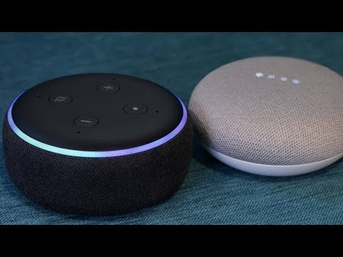 Download Google Home Mini vs Amazon Echo Dot 3 - Who Wins now? Mp4 HD Video and MP3