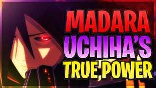 How Strong Is Madara Uchiha?