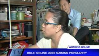 Looking for work Try an online job
