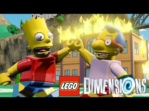 The Simpsons Dimension - LEGO Dimensions 1080p Mp3