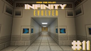 FTB: Infinity Evolved #11  New Base and Storage Drawers! - Modded Minecraft