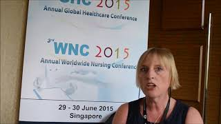 Ms. Kay Poulsen at GHC Conference 2015 by GSTF Singapore