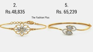 Latest Diamond Bracelet And Bangle With Price