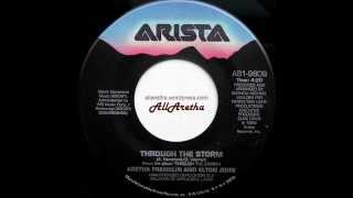 "Aretha Franklin - Through The Storm / Come To Me - 7"" - 1989"