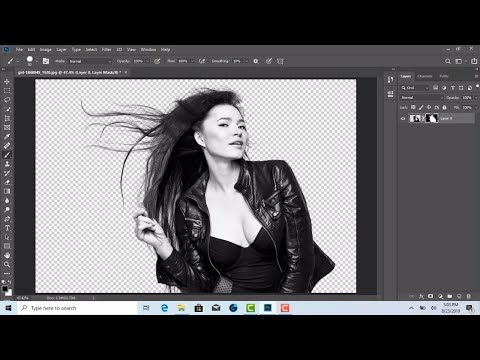 Photoshop - How to Cut Out an image Delete & remove backgrond - srinu photo editing