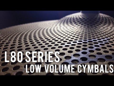 CYMBAL DEMO – ZILDJIAN L80 LOW VOLUME CYMBALS