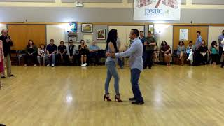 Central Jersey Dance Society Salsa Sensation dance Salsa lessons with Mike Andino 10 7 17