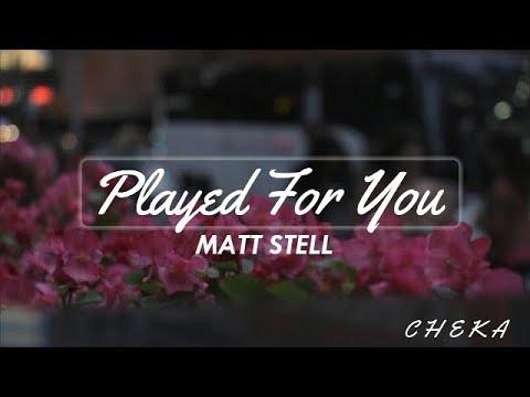Matt Stell - Prayed For You (Lyrics)