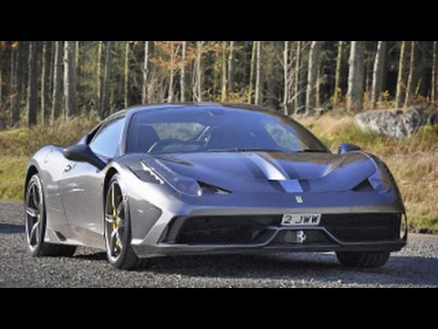 Taking The Ferrari 458 Speciale To The Evo Triangle!