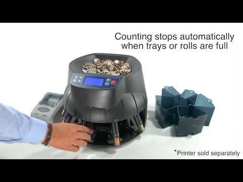 AB510 Coin Counter - Sorter - Roller
