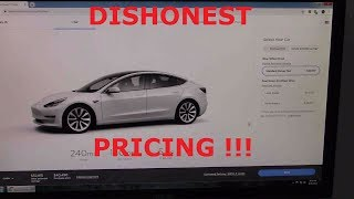 Dishonest Tesla price tricks!  How to not get fooled!
