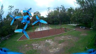 Práctica de Domingo FPV Drone (BetaFPV HX115)