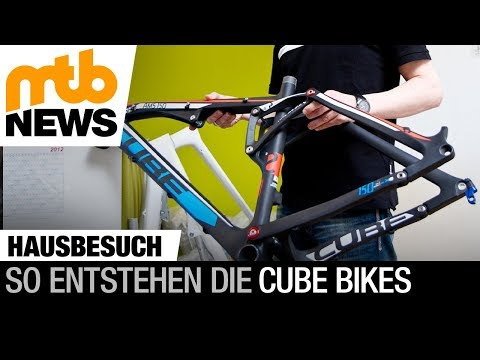 Cube Bikes - Hinter den Kulissen: Hausbesuch bei Cube in Waldershof