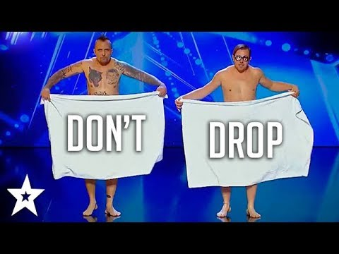 DON'T DROP YOUR TOWEL on Romania's Got Talent 2018