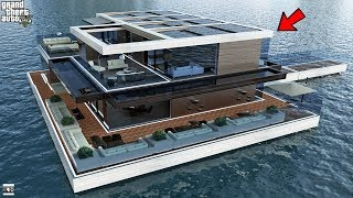 GTA 5 REAL LIFE MOD SS10 #12 FLOATING MANSION