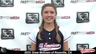 2023 Drew McKown Speedy Slapper, Second Base and Outfield Softball Skills Video - AASA Pikas