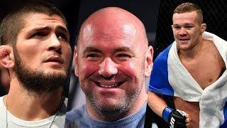 Полулегковесу интересен бой с Хабибом, Дана Уайт о PPV UFC 229, Петр Ян остался без соперника