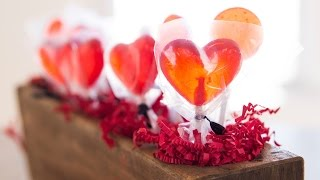 Homemade Valentines Suckers