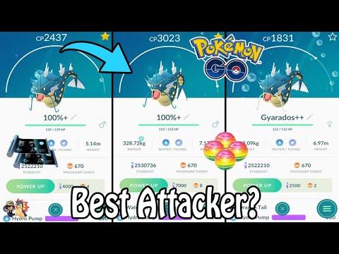 Download Pokemon Go Double Gyarados Evolution 100 Iv Perfect Video