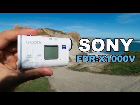 Sony FDR-X1000V, la cámara de acción de Sony que graba en 4K