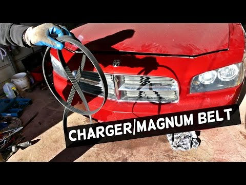 Awesome Dodge Charger 3 5 Serpentine Belt Diagram And Replacement Dodge Magnum Wiring Database Hyediarchgelartorg