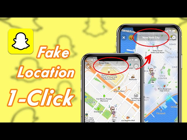 How to Fake/Spoof Snapchat Location without Jailbreak on iPhone/iPad (2021)