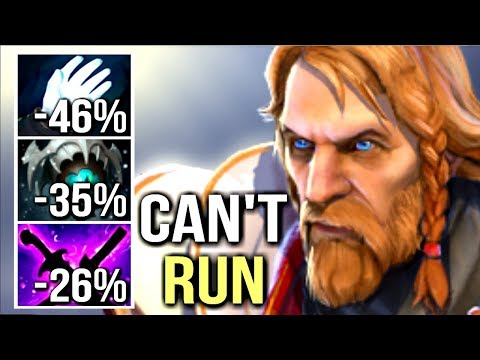 WTF CAN'T MOVE CANCER BUILD -107% SLOW Skadi Omniknight Carry by Arteezy GOD Dota 2