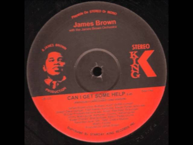 JAMES BROWN - Can I Get Some Help - KING RECORDS .wmv