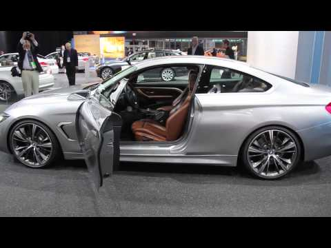 BMW 4 Series Coupe at 2013 Detroit Auto Show