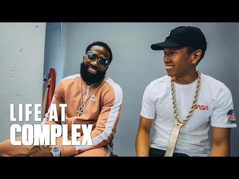 ADRIEN BRONER IS IN THE OFFICE & EVERYDAY IS A BOWWOWCHALLENGE! | #LIFEATCOMPLEX
