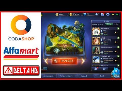 Cara Membeli diamond / Uc di CodaShop (Alfamart) - All Game - Indonesia