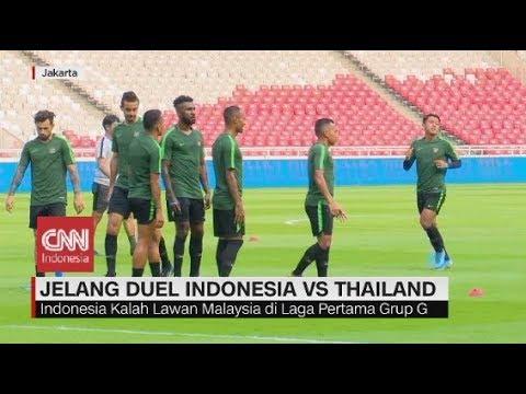 Lawan Thailand, Timnas Indonesia Bertekad Bangkit