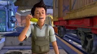Веселые паровозики из Чаггингтона ¦ Банановый проказник 1 Сезон⁄Серия 9   мультики для детей