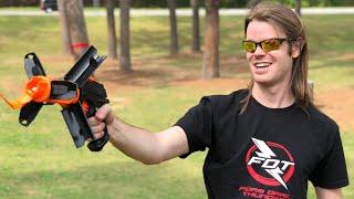 NERF MOD: World's First GRENADE NERF GUN