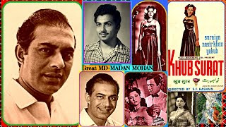TALAT MEHMOOD-Film-KHOOBSOORAT-{1952   - YouTube