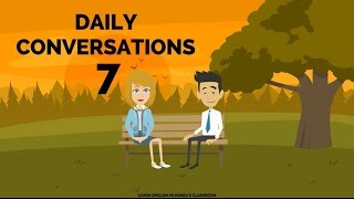 Actions - Daily Life & Work - 07 - English Lessons for Life - Daily English Lessons