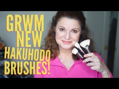 For all Japanese brush lovers - GRWM - NEW Hakuhodo