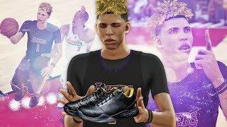 NBA 2K17 MyCAREER LaMelo Ball #2 - Wearing Lonzo Ball Signature ZO2 Shoes!!
